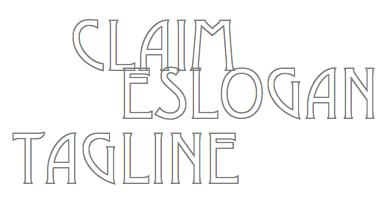Tagline, eslogan y claim de marca